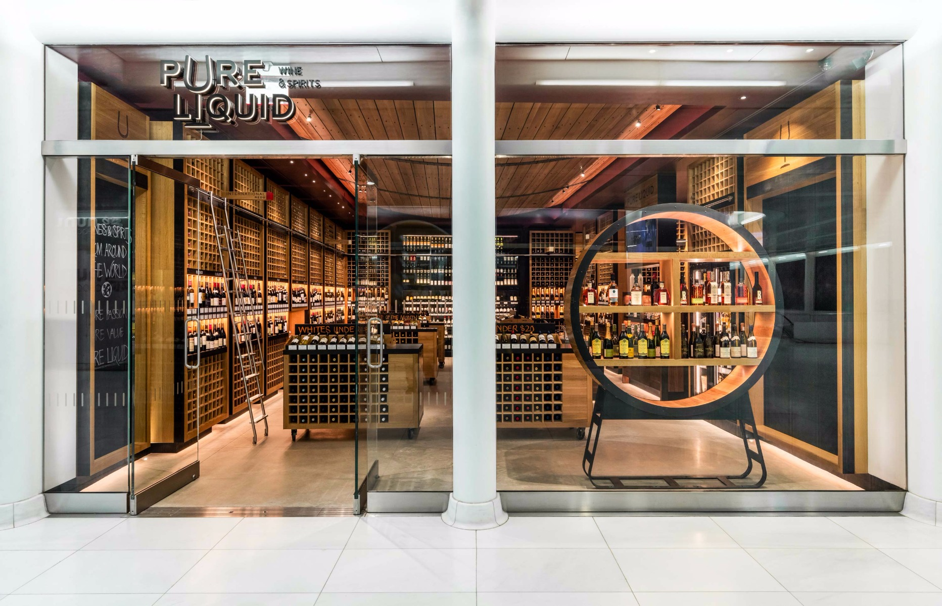 Pure Liquid Wine & Spirits Storefront