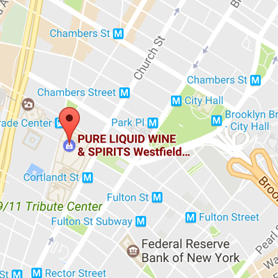 Map to Pure Liquid Wine & Spirits
